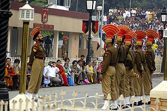 Border Security Force - BSF at Wagah