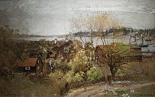 Paysage près de Vaxholm