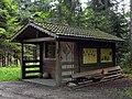 Waidhofen an der Ybbs - Buchenberg - Unterstandshütte am Naturlehrpfad.jpg