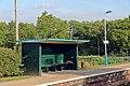 Waiting shelter, Pen-y-ffordd railway station (geograph 4032555).jpg