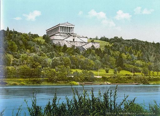 Walhalla Regensburg 1900