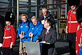 Walk on Wales- £1million charity walk in aid of Welsh soldiers sets off from the Senedd-Walk on Wales- Taith gerdded elusennol gwerth £1 miliwn yn cychwyn o'r Senedd (10687354685).jpg