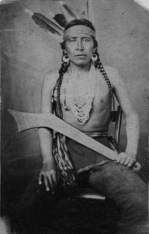 Big Eagle - Big Eagle circa 1864