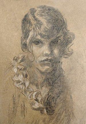 Wanda Gág - Wanda Gág Self portrait 1915