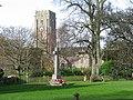 War Memorial in Woodbury - geograph.org.uk - 1597980.jpg