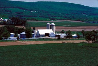 Washington County, Virginia - A farm in Washington County, Virginia