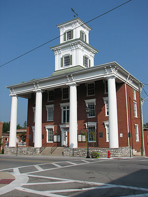 Washington County, Virginia - Image: Washington County VA Courthouse