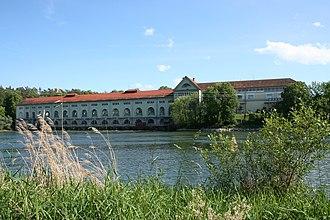 Döttingen, Aargau - Hydroelectric plant at Beznau