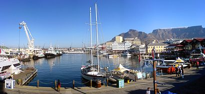 How to get to V&A Waterfront with public transport- About the place
