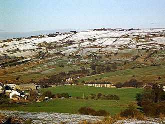 Civil parishes in Lancashire - Image: Waterside, Darwen geograph.org.uk 12633
