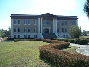 Hardee County Courthouse - Image: Wauchula crths 03