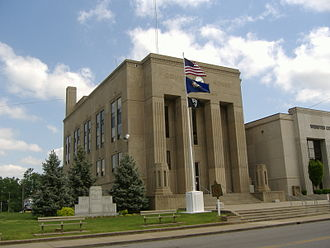 Webster County, Kentucky - Image: Webster County Courthouse Kentucky