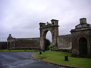Wedderburn Castle - Wedderburn Castle main gate