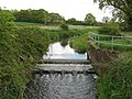Weir on River Adur tributary - geograph.org.uk - 1273536.jpg