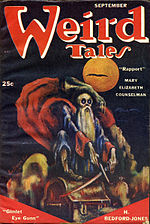 Weird Tales cover image for September 1951