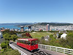 Cable car - Cable car in Wellington, New Zealand