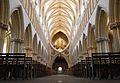 Wells - Bellissimo l'arco a forbice della cattedrale - panoramio.jpg