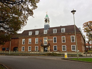 Welwyn Hatfield Borough Council offices, The Campus, Welwyn Garden City Welwyn Hatfield Council offices.jpg