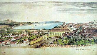 Porto Alegre - Porto Alegre in 1852