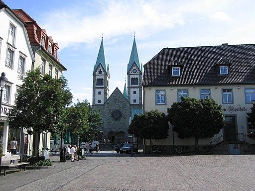 Werl wallfahrtsbasilika marktplatz