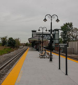 Wesmont station (NJ Transit) - Wesmont station shortly after its May 2016 opening