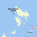 West Nalaut Island, Philippines.png