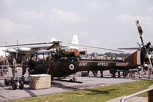 Westland Scout - Scout AH.1 at Farnborough 1962