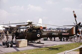 Westland Scout - Scout AH.1 at Farnborough 1962