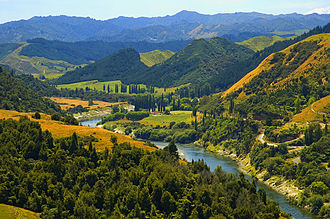 Whanganui National Park - Whanganui River flows through Whanganui National Park.
