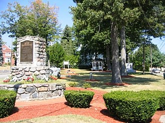 Wharton, New Jersey - Memorial Park in central Wharton