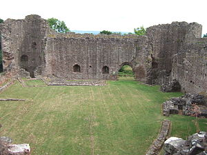 White Castle, Monmouthshire - The interior of the inner ward