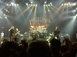 Whitechapel live in anaheim 2011.jpg