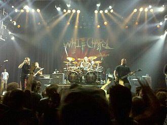 Whitechapel (band) - Image: Whitechapel live in anaheim 2011