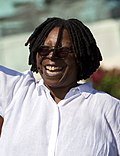 A photo of Whoopi Goldberg in 2008.
