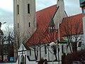 Widok na kościół Św.Michała od strony oleśnieńskiego ratusza - panoramio.jpg