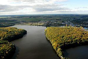 Krajna - Więcbork and lake