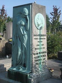 Grabdenkmal Wieniawskis in Ixelles (Quelle: Wikimedia)