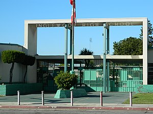 Inglewood High School (California) - Image: Wiki inglewood HS