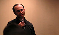 Wikimania 2015 - Joe Sutherland 26.jpg
