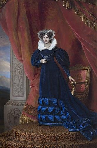 Wilhelmine of Prussia, Queen of the Netherlands - Queen Wilhelmine of the Netherlands in old age, by Jan Baptist van der Hulst, 1833.