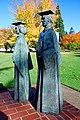 Willamette University Statues (Marion County, Oregon scenic images) (marDA0084).jpg