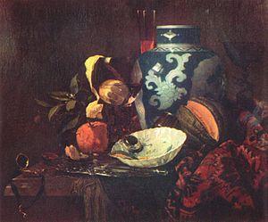 Willem Kalf - Willem Kalf, Still-Life, Louvre, 1660.