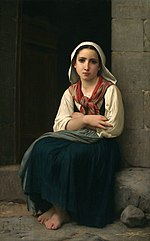William A. Bouguereau - Yvonnette - 1867.jpg