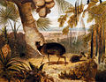 William Daniell - Musk Deer, And Birds Of Paradise.jpg