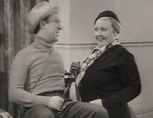 William Newell (actor) - William Newell and Greta Meyer in Bill Cracks Down (1937)