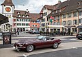 Willisau - Hauptgasse mit Jaguar E-Type Roadster.jpg