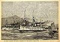 Willy Stöwer - Das umgebaute Panzerschiff 2.Klasse 'Kaiser', c. 1895.jpg