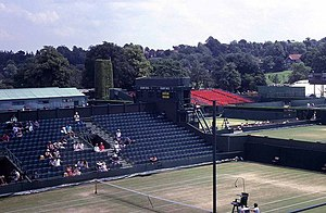 No. 2 Court (Wimbledon) - Old No. 2 Court during the 1991 Wimbledon Championships