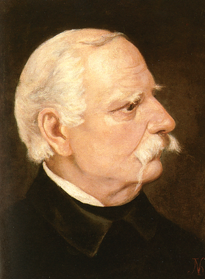 Wincenty Pol - Portrait of Wincenty Pol by Juliusz Kossak