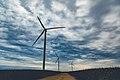 Wind Turbines at Pioneer Prairie Renewable Energy Wind Farm, Iowa (36670573605).jpg